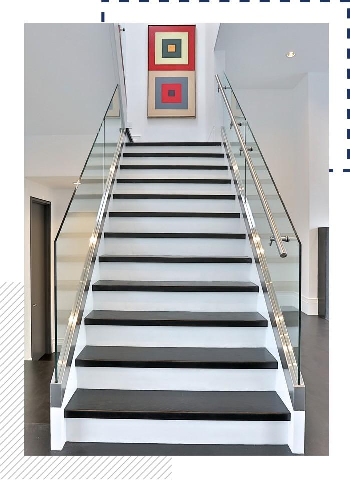 Beautiful Staircase Custom Built Edmond Home